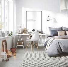 Bedroom Inspiration With Desk Work Space By The Window Find This Pin And More On Home Decorating