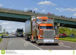 Guinness World Record Truck Convoy Editorial Photography - Image Of ...