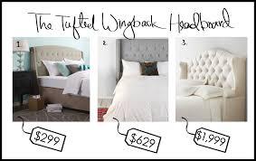 furniture roma tufted wingback headboard design bedroom decor