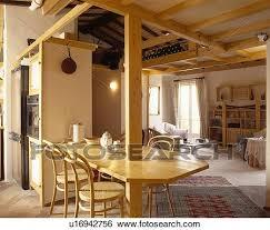 bentwood stühle tisch gebaut in aufrecht balken in