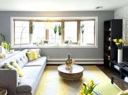 yellow living room decor charming gray and yellow living room and