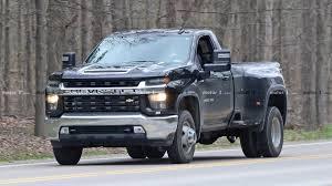 100 Single Cab Chevy Trucks For Sale 2020 Silverado HD Dually Spied Fully