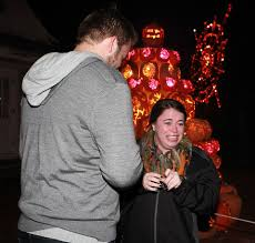 Great Pumpkin Blaze Address by Celebrity Sightings Marriage Proposals At The Great Jack O