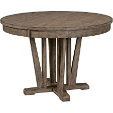 Round Dining Room Sets With Leaf by Buy The Kincaid Foundry Round Dining Table Kc 59 052 At Carolina