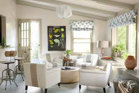 Living Room Photos Decorating Ideas Magnificent Layout White Fabric Seat Cover Chairs Round Coffee Table Roman