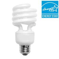 tcp 100w equivalent bright white 3500k spiral cfl light bulb