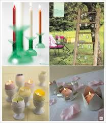 que faire avec des pots de yaourt en verre idees photophore bougie decoration table