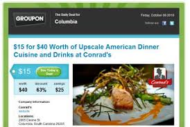 groupon cuisine email marketing what your business can learn from groupon and