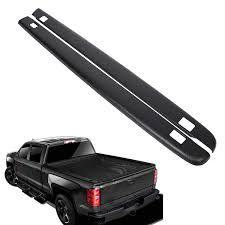 100 Bed Caps For Pickup Trucks Amazoncom ECOTRIC Truck Rail Black Smooth Finish For 2007