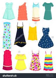 Cotton Dress Clipart