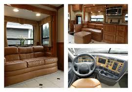 Luxury Motorhome Interior Glamorous