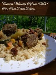 la cuisine à toute vapeur sens sans dessus dessous couscous marocain safrané tm31