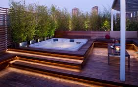 Transform An Existing Terrace Into A Spectacular Entertaining ... Hot Tub On Deck Ideas Best Uerground And L Shaped Support Backyard Design Privacy Deck Pergola Now I Just Need Someone To Bulid It For Me 63 Secrets Of Pro Installers Designers How Install A Howtos Diy Excellent With On Bedroom Decks With Tubs The Outstanding Home Homesfeed Hot Tub Pool Patios Pinterest 25 Small Pool Ideas Pools Bathroom Back Yard Wooden Curved Bench