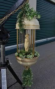 vintage hanging goddess rose mineral oil rain drip drop swag lamp