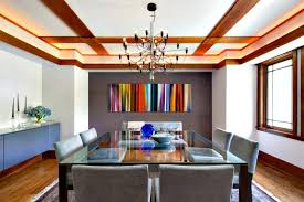 View In Gallery Rainbow Painting A Dining Room By Claire Paquin