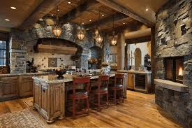 Kitchen Styles Old Style Rustic Black Cabinets French Country Designs Photo Gallery White