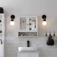 jeobest spiegelschrank badschrank weiß real de
