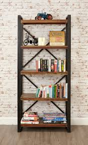 Open Bookcase by Bonsoni New Baudouin Large Open Bookcase Shabby Chic Vintage