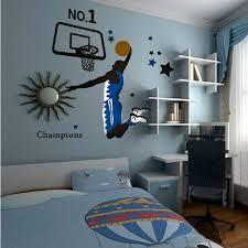 chambre basketball nouveau samedi mall sport basketball slam dunk stickers muraux