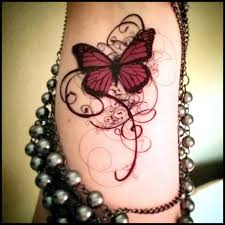 Download Free Classic Gothic Butterfly Tattoo Design For Sleeve To