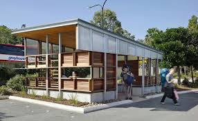 100 Bark Architects Noosa Mini Bus Shelter