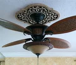 Small Two Piece Ceiling Medallions by Installing A Two Piece Ceiling Medallion Fan Medallions Ideas For
