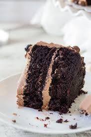 Buttermilk Chocolate Layer Cake The Chunky Chef