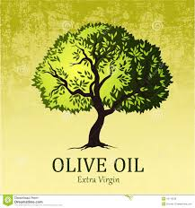 Olive tree Vector green treellow green leaves