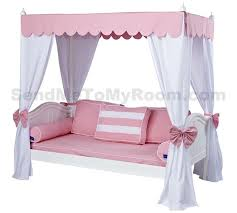 Twin Canopy Bed Curtains by Amazing Lovely Bed Canopy For Girls With Modern Kids Regard To