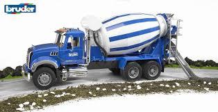100 Bruder Cement Truck Amazoncom Mack Granite Mixer Toys Games