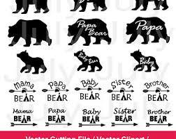 Bear Cub Clipart Papa 8
