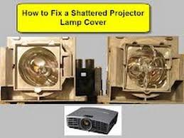how to fix a shattered projector l cover