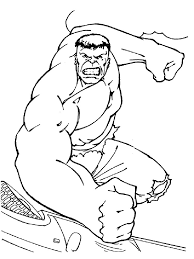Hulk Coloring Pages 7