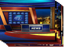 Multi Monitor News Set W Transparent Windows HD