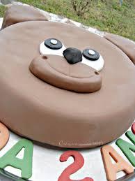 gateau ourson teddy cake prunille fait show