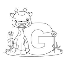 Letter G Coloring Page 14 Top 25 Free Printable Pages Online