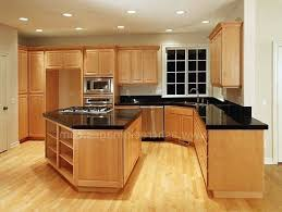what color granite countertops go with light maple cabinets