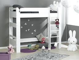 chambre mezzanine enfant lit enfants mezzanine lit mezzanine chambre enfant blanc