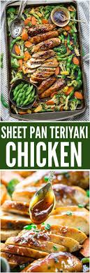 The BEST Sheet Pan Suppers Recipes Easy And Quick Baked Family Lunch Simple Dinner Meal Ideas Using Only ONE Baking PAN