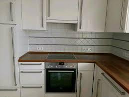 küche einbauküche in l form mit elektrogeräten