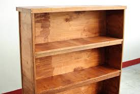 how to build a wooden bookcase best home design 2018