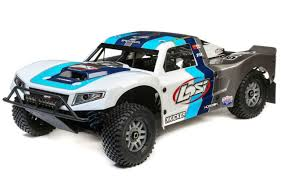 100 Losi Trucks LOS05014T1 15 5IVET 20 4WD BND Gas RC Short Course