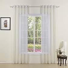 ᗗey gardinen otto klassische transparente vorhang zwei