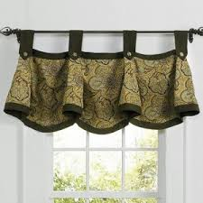 Sears Sheer Curtains And Valances by Sears Curtains And Valances Waverly Clarissa Pattern Valance