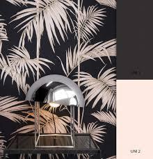 newroom vliestapete blumentapete schwarz metallic wallpaper floral blumen tapete pflanzen wohnzimmer schlafzimmer büro flur kaufen otto
