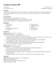 New Rn Resume Sample Create My Position Objective