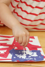 Patriotic Crafts For Kids American Flag Craft