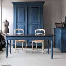 Gorgeous Collection Of French Vintage Furniture Beautifully Painted In Aubusson Blue Chalk PaintR