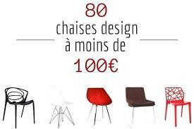 chaises de cuisine modernes chaise design pas cher chaise de