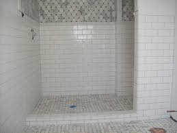 white tile shower ideas walls home depot with light grey grout